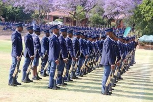SAPS passing out parade